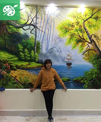 Vẽ tranh tường 3 chiều giá thấp tại Hà Nội Thủ Đô uy tín 1572596733-86186370-custom