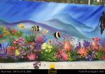 Vẽ Tranh Tường Đại Dương cho bé yêu