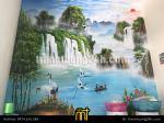 Vẽ Tranh Tường Sơn thủy, Đồng quê