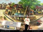 Vẽ tranh Tường trường THPT Việt Đức, Lý Thường Kiệt, HN