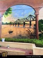 Tổng hợp tranh vẽ trên tường cho quán cafe, trà chanh mới nhất 2019