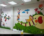 Vẽ tranh tường mầm non, phòng bé yêu cực đẹp
