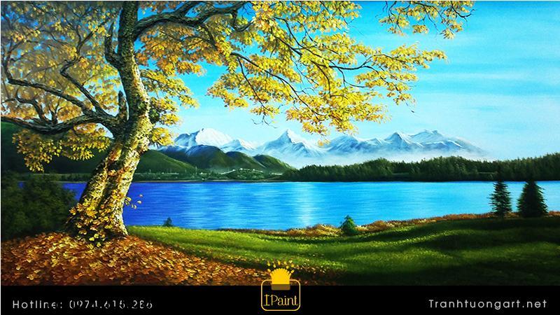 Tranh phong cảnh châu âu