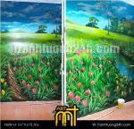 Vẽ tranh tường gia đình, Thái Thịnh